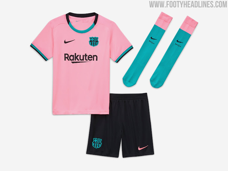 FC Barcelona 20-21 Third Kit Released - Footy Headlines