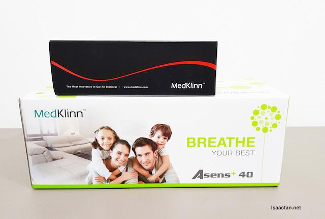 MedKlinn Home Air Sterilizer & Autoplus In-Car Air Sterilizer