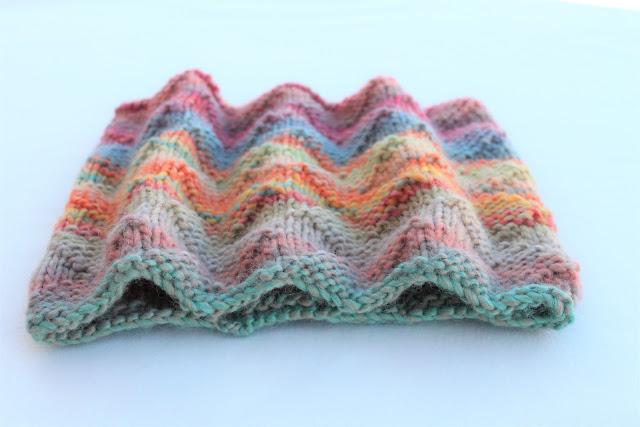 wool cowl knitting katia