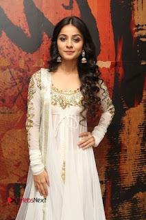 Telugu Actress Mahima Makwana Stills in White Desginer Dress at Venkatapuram Movie Logo Launch  0234.JPG