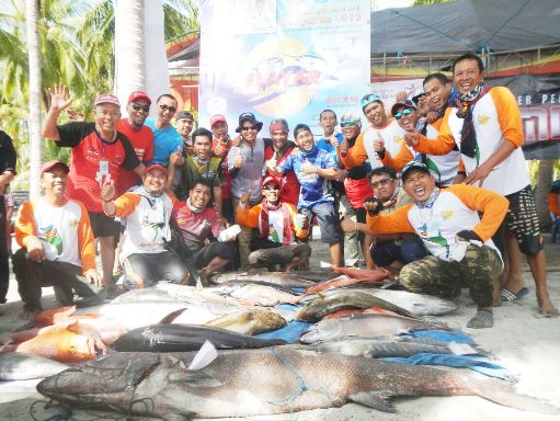 Club Mancing Fortis-1, Juara Umum Selayar Fishing Tournament 2017