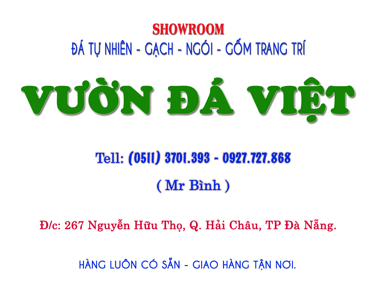 Cửa hàng Đá tự nhiên Vườn Đá Việt