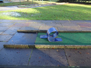 Botanic Gardens Crazy Golf course in Southport