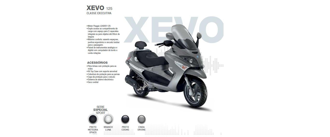 Loja das Motos: Piaggio XEVO 125