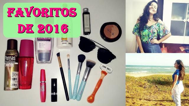 FAVORITOS DE 2016 | Moda, maquiagem e cosméticos