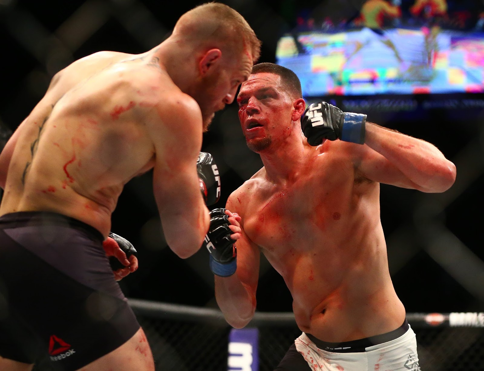 CONOR MCGREGOR VS. NATE DIAZ 7
