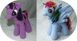 Amigurumi Pequeño Pony