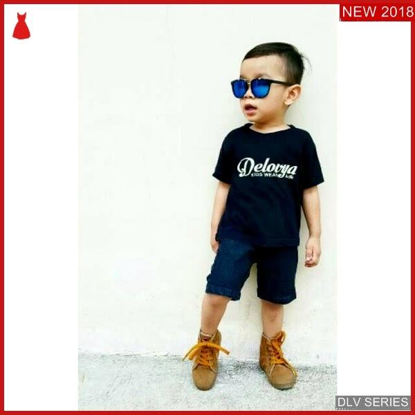 DLV57S23 Short Pant Anak Jeans Celana Pendek Balita Murah BMG