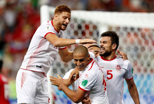 Tunisia Vs Panama 2-1,Tunisia's long wait for finals win ends