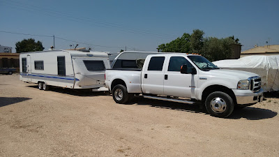 Caravan towing service Benidorm, Alicante, Costa Blanca, Spain