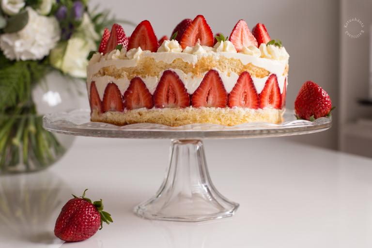 Fraisier - Strawberry Cake