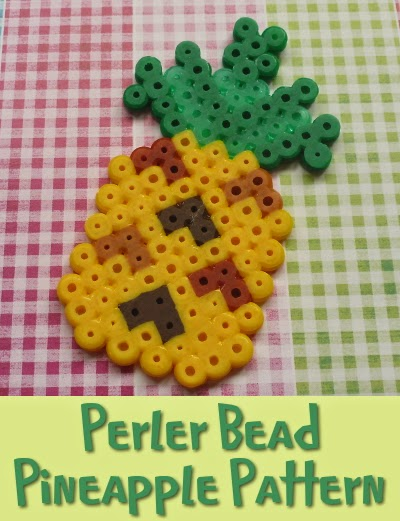 Pineapple Perler Bead Pattern Tutorial