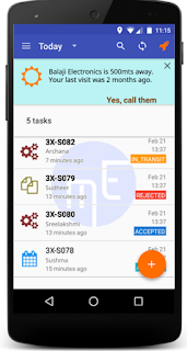 mEdge Mobile workforce , field force management