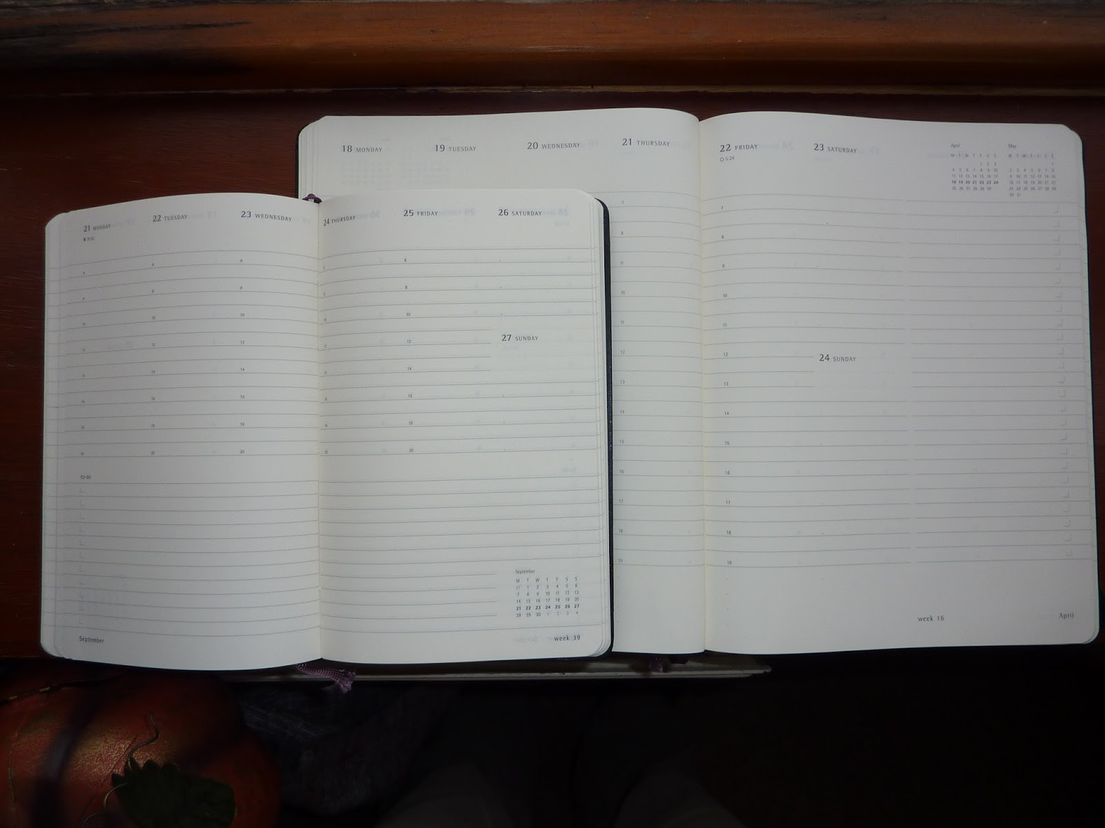 plannerisms moleskine dashboard and action planners compared