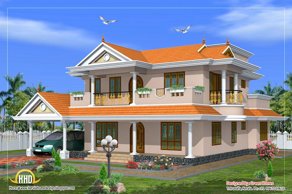 Beautiful 2 Storey house design - 231 square meters (2490 ...