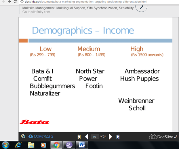 reebok segmentation targeting positioning Segmentation - targeting – positioning eureka facts, the smart marketing information 2 and behavioral measures the following section will.