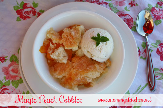 Magic Peach or Blackberry Cobbler