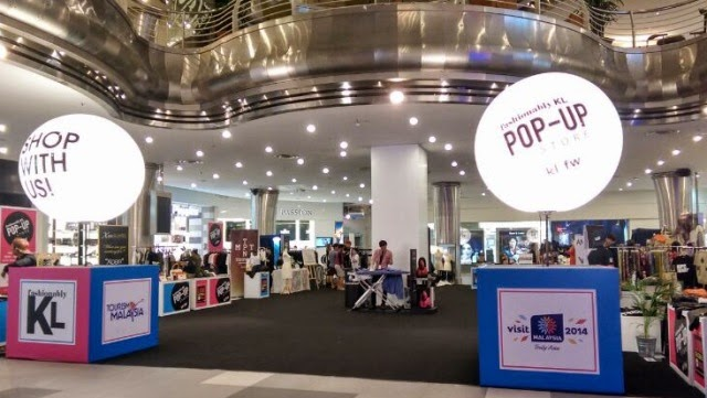 KL Fashion Week 2014 Pop Up Store, lot 10, national traditional blogger #KLFW2014