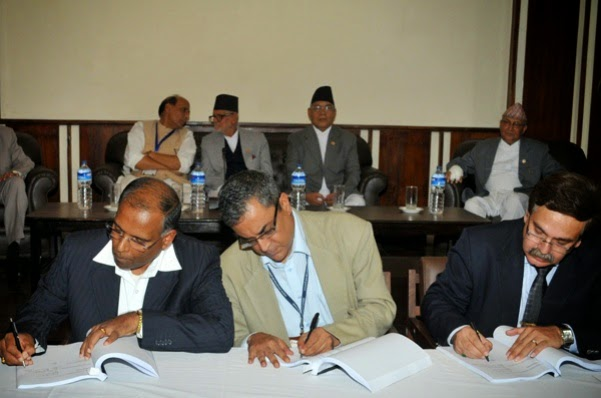 Nepal and GMR India Upper Karnali PDA agreement
