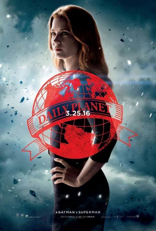 Batman v Superman Lois Lane poster
