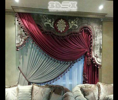 best curtain designs for bedrooms curtains ideas and 18285 | latest curtains designs for bedroom modern interior curtain ideas 2018 2b 25286 2529