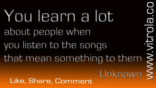 Use music to learn about people