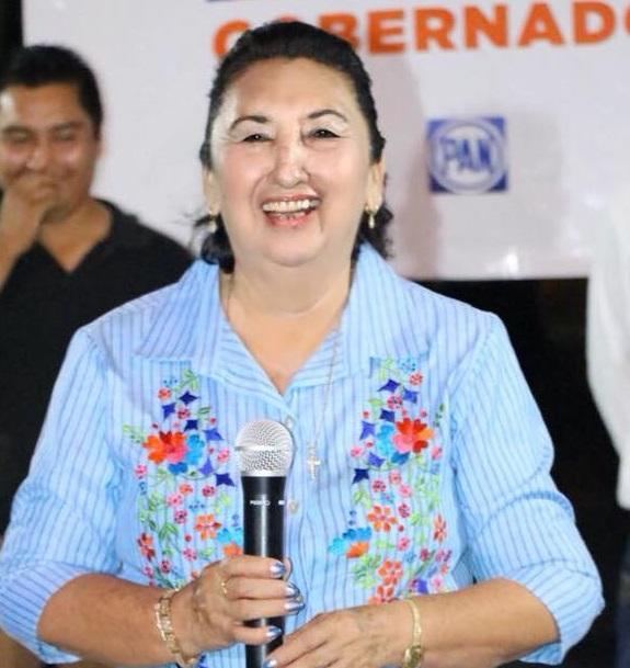 Mujer que incursiona en la política