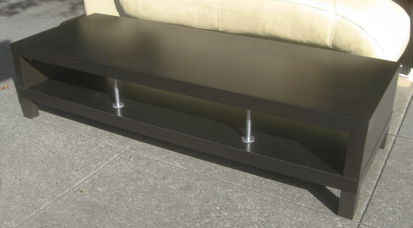 UHURU FURNITURE & COLLECTIBLES: SOLD - Black Ikea Coffee Table