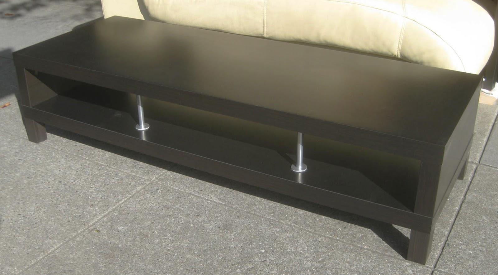 UHURU FURNITURE & COLLECTIBLES: SOLD - Black Ikea Coffee Table