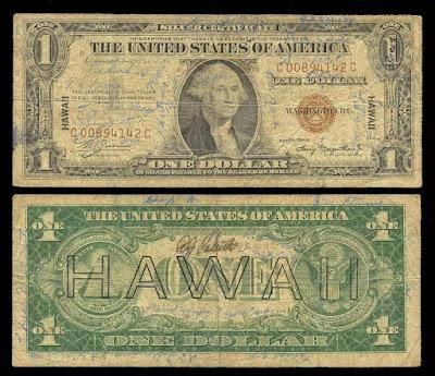 Доллары HAWAII
