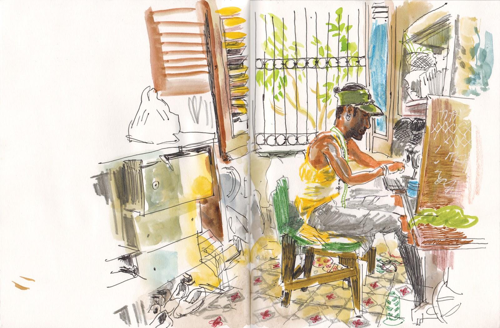 Revolutionary Greetings Urban Sketchers