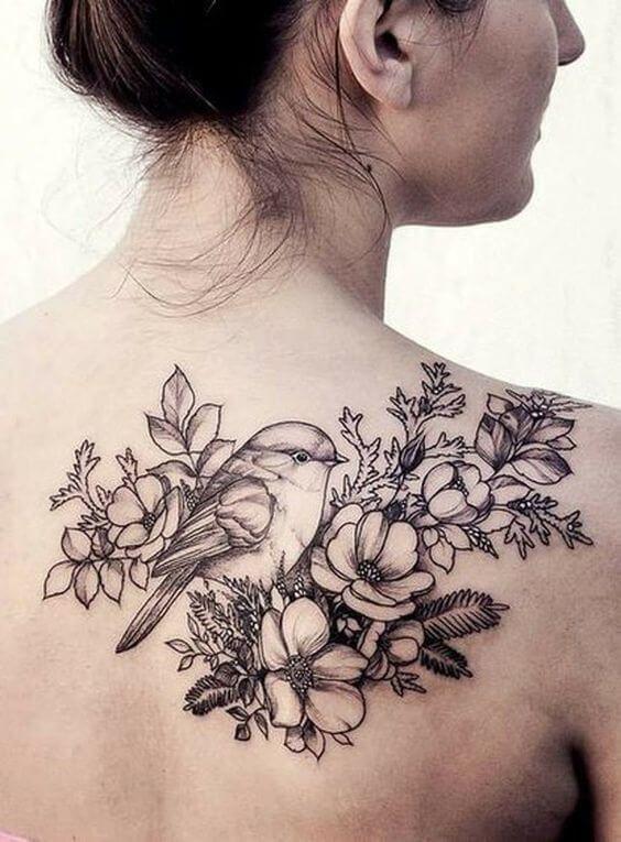 55+ Brathtaking Flower Tattoos Ideas