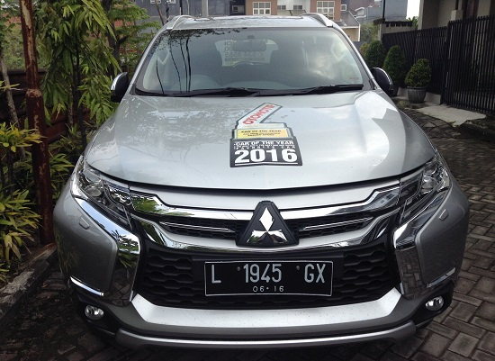 Test Drive Pajero Sport Surabaya 2016