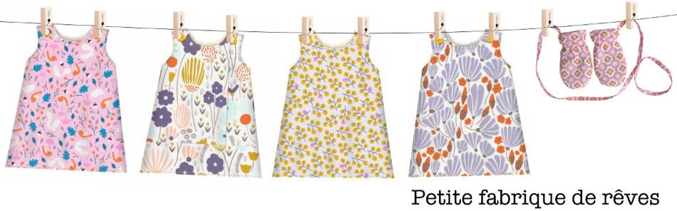 Petite fabrique de rêves - Patrons de couture