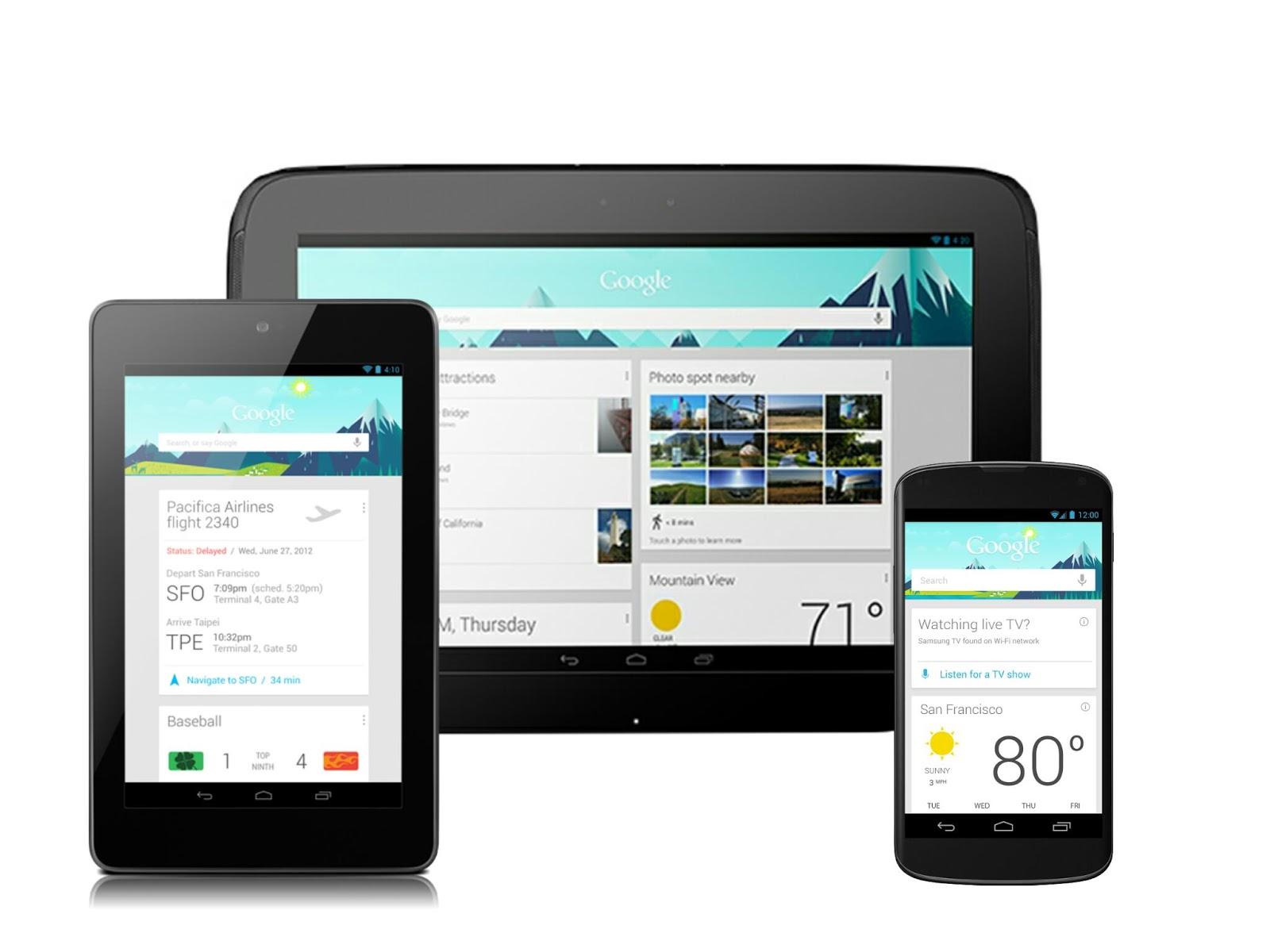 Cara mengaktifkan Google Now di Android