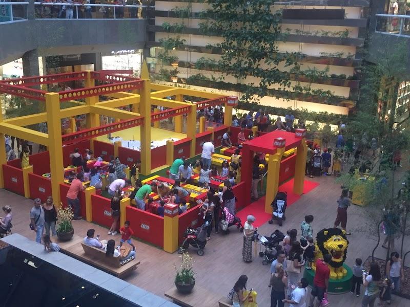 LEGO promove evento Construtores do Amanhã no Shopping Metrô Itaquera