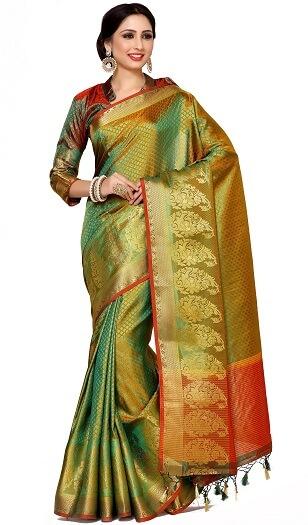 Bangalore Art Silk Saree