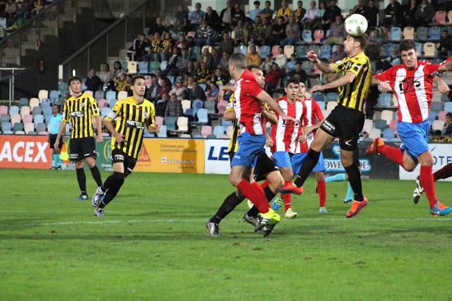 Fútbol | Un tempranero gol de Amondarain da la victoria al Barakaldo frente al Navalcarnero