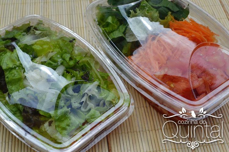 Potes retangulares para 250 e 500ml da Galvanotek: ideais para salada no pote!!