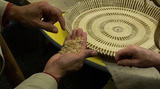 Sorting rice for dinner