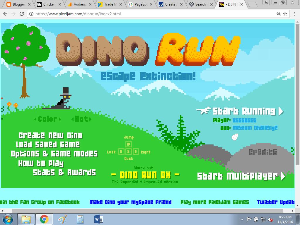 ChickenBricks: Lego Dino Run!