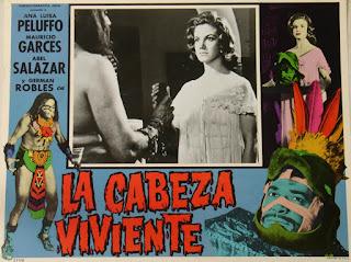 Cartel de cine: La cabeza viviente (1961) El ojo de la muerte