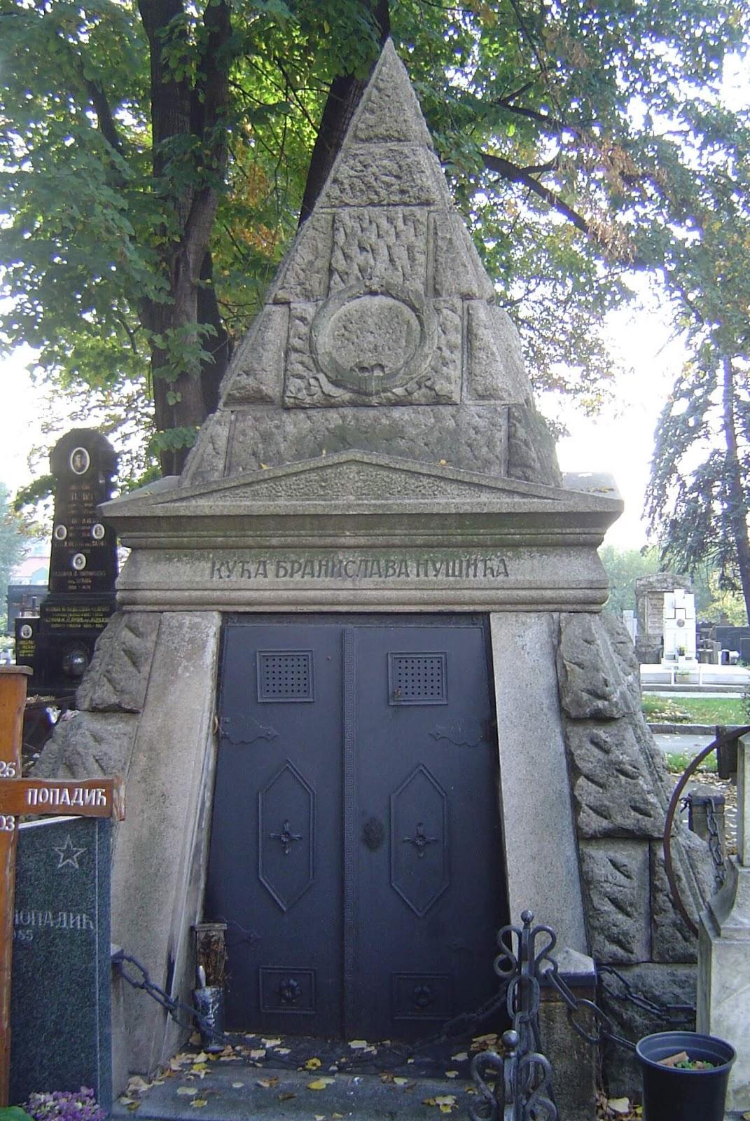 Гробница Бранислава Нушича