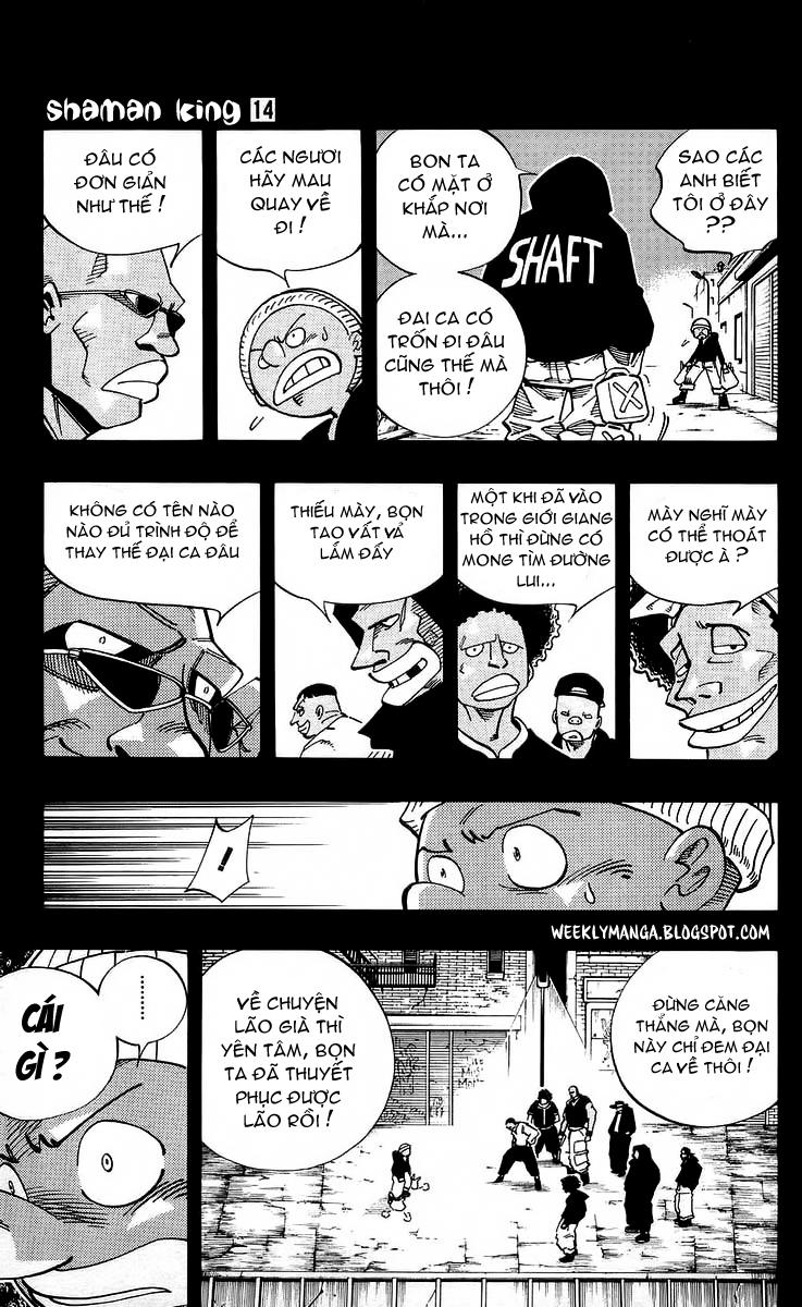 Shaman King [Vua pháp thuật] chap 117 trang 12