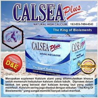 Natural Hige Calsium CALSEA PLUS Suplemen Pencegah Osteoporosis