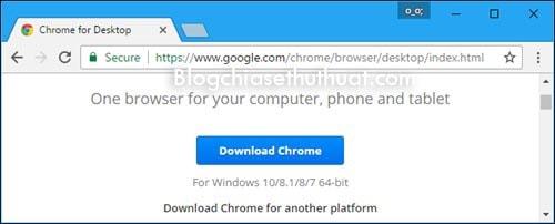 Hướng dẫn sử dụng các trình duyệt web 64bit