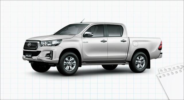Giá xe Toyota Hilux 2.4G 4x2 AT MLM 2019