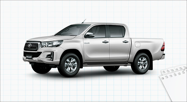 Toyota Hilux 2.4G 4x2 AT MLM 2019