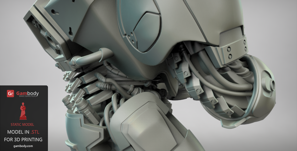 Terran Marine 3D Design