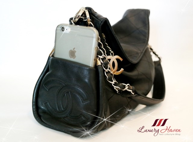 chanel lambskin matelasse hobo shoulder bag iphone